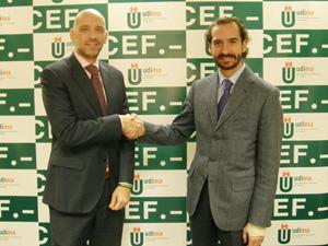 Acuerdo de la UDIMA y el CEF.-  con la Comunidad Laboral Universia-Trabajando.com