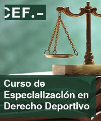 Curso de Especialización en Derecho Deportivol