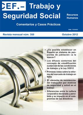 CEF Trabajo y Seguridad Social