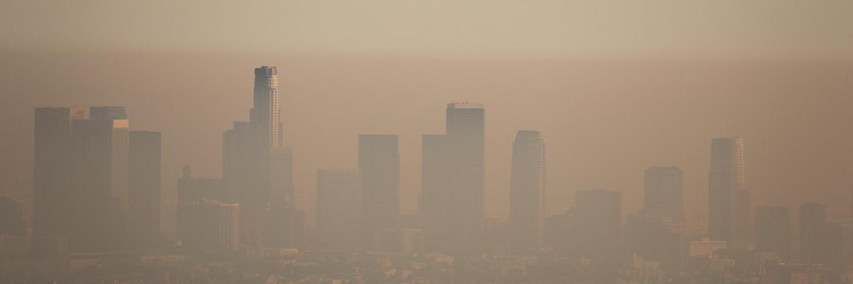 Contaminación atmosférica ciudad