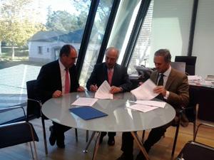 El CEF.- y la UDIMA firman un convenio con la iniciativa Eurojoves