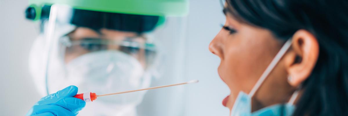 Laboratorio investigando vacuna