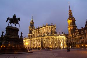 Dresde, esplendor barroco
