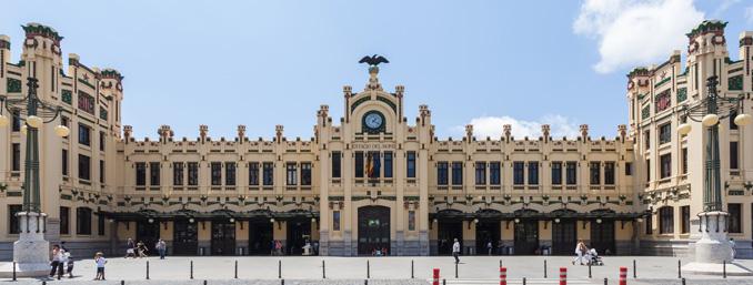 La Estación del Norte de Valencia cumple 100 años