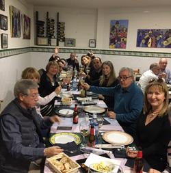 Gastronomía con la ACEF.- UDIMA de Valencia