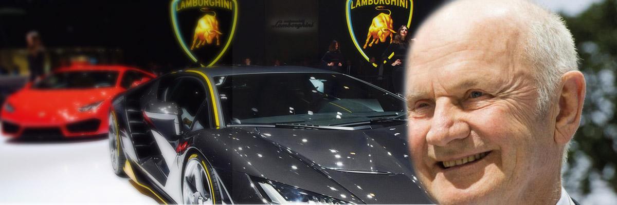 Exposición coches Lamborghini