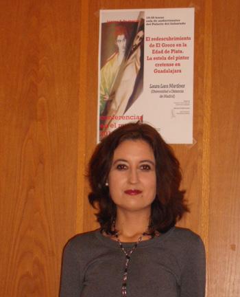 Conferencia sobre El Greco de la profesora Laura Lara en Guadalajara