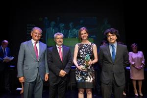 Arancha de las Heras premio Fundación Alares