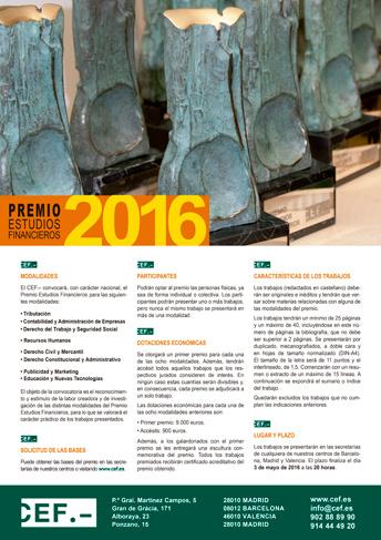 El CEF.- concede sus premios a la investigación