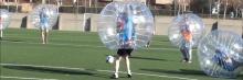 Partido fútbol Buble