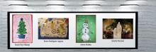 Fotografía y postales navideñas ganadoras del concurso
