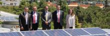 Instalación de placas fotovoltaicas en la UDIMA