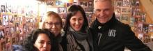 """En el Teatro Victòria, en Barcelona, los asociados de la ACEF disfrutaron de una reducción en el precio por asistir a """"HITS"""", de la mano de El Tricicle"""