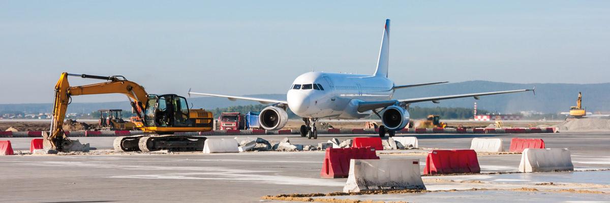 Aeropuerto en obras